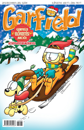 2013 December Garfield magazin