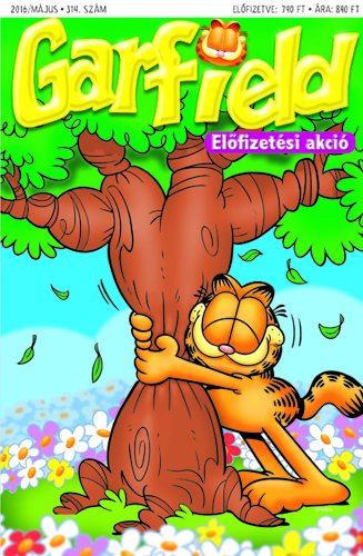 Garfield magazin - 314.