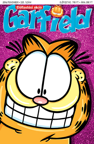 Garfield magazin 320.